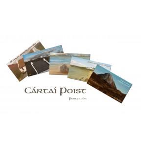 Cártaí Poist - Postcards x 10