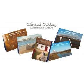 Cártaí Nollag - Christmas Cards x 5